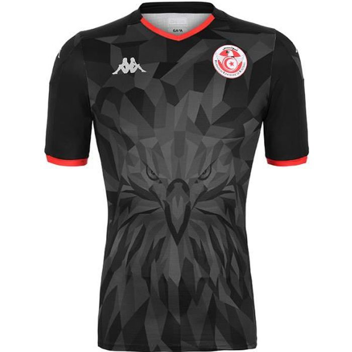 Maillot enfant Kombat Tunisia Third 19-20 Noir 10Y