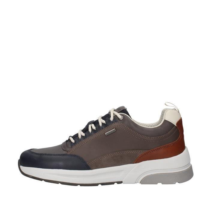 Geox U947WA046K4 chaussures de tennis faible homme BLEU MARINE