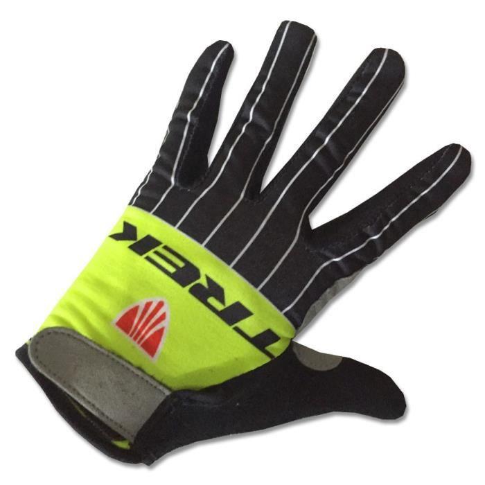 TREK Segafredo Gants de VTT Cyclisme ,Vélo Route Gants de Sports MTB pour Hommes et Femmes,Thermique Longues Gloves