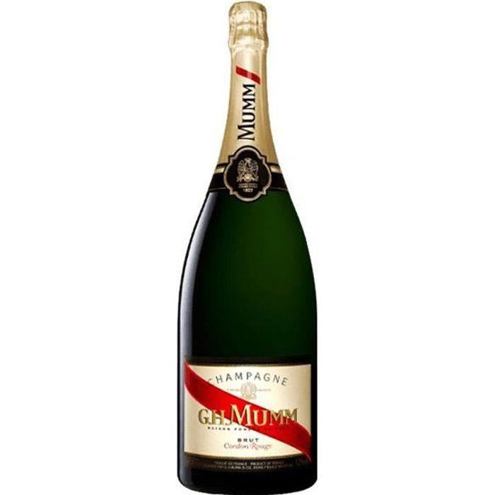 6x Mumm Cordon Rouge Magnum - Champagne AOC