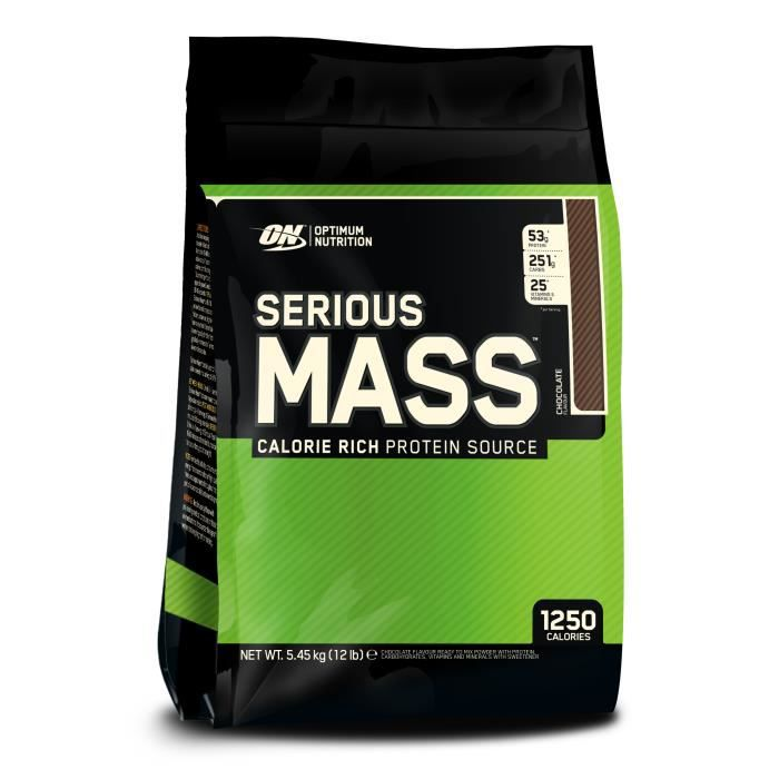 Serious Mass CHOCOLAT 5455g Optimum Nutrition