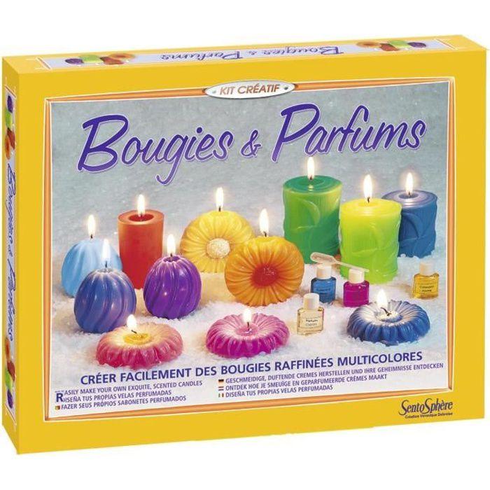 SENTOSPHERE Kit Bougies Parfums