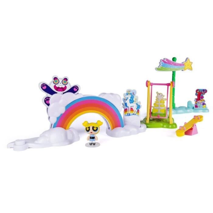 POWERPUFF GIRLS Playset Storymaker Parc Arc En Ciel Spinmaster