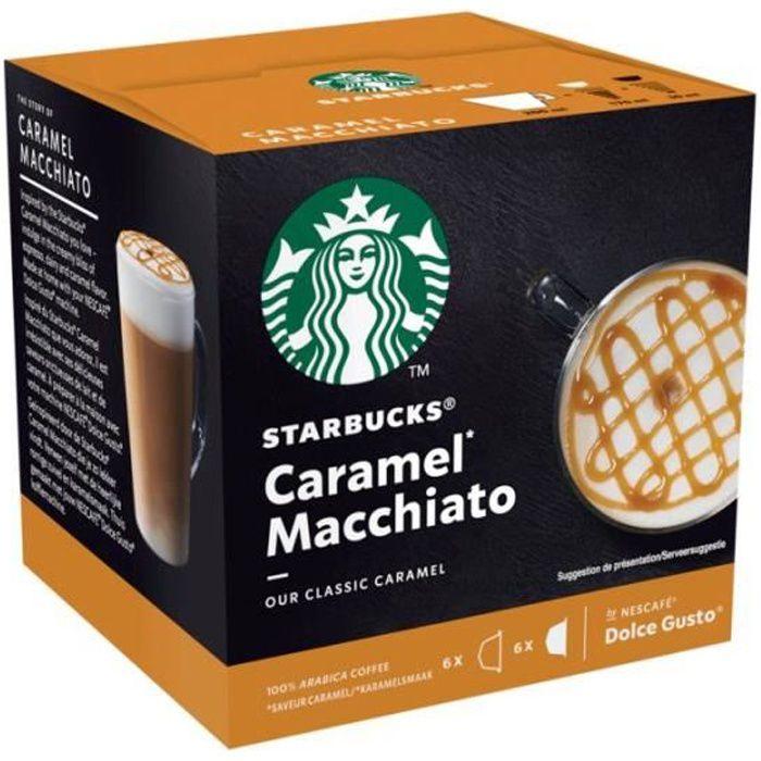 STARBUCKS Café Dolce Gusto Caramel Macchiato - 12 capsules - 102 g
