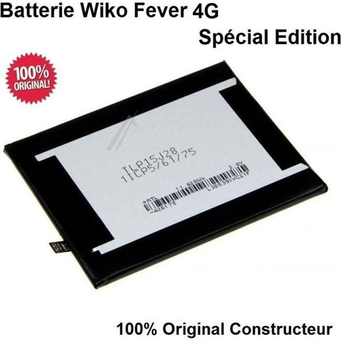 Batterie Wiko Fever 4G Spécial Edition 100% ORIGINAL