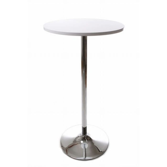 Table de bar mesa blanche achat vente mange debout for Achat table bar