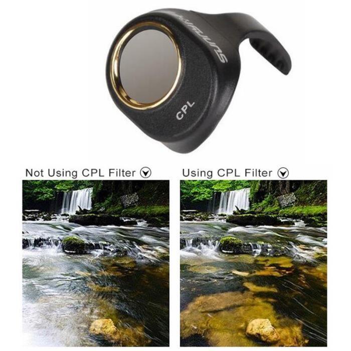 s/ûr et /écologique sans Affecter la clart/é de limage Filtre pour Drone Technologie de rev/êtement Multicouche Nano pour Les Amateurs de Drones 4PRO RC Shanbor Filtre CPL pour Drone