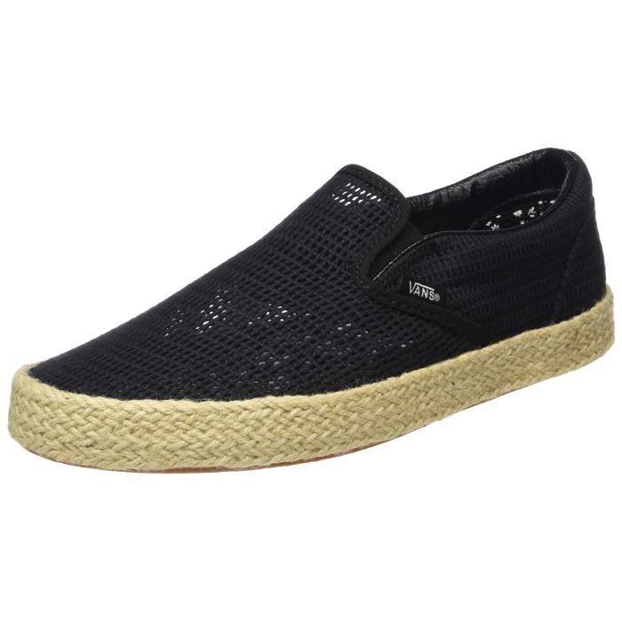 Vans Slip-on classique Espadrille de femmes, Adultes Sneakers-top ...