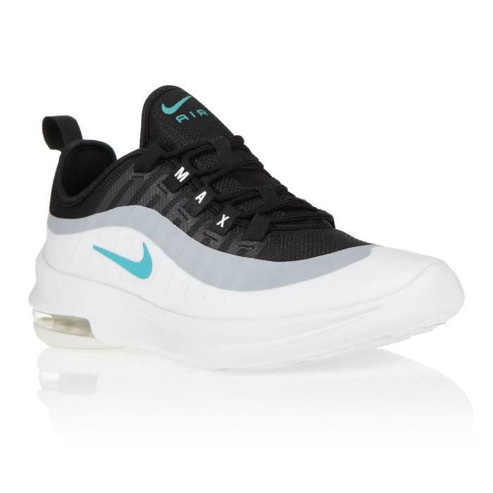 air max axis noire et bleue junior