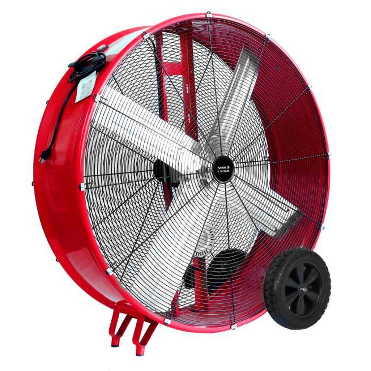 Ventilateur de sol d'Arebos Ventilateur souffleur Brasseur d'air  20 pouces 120W