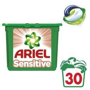LESSIVE ARIEL 3 en 1 Sensitive Lessive - 30 Capsules- 897