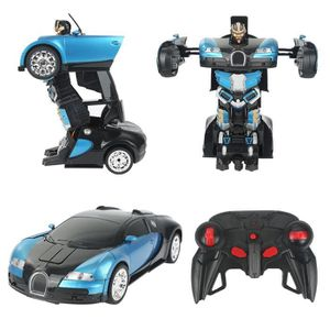 Buggati Veyron style RC Radio Télécommande Drifting Voiture Robot Transformers Jouet
