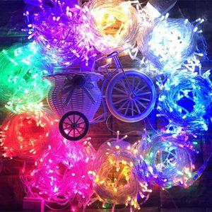 GUIRLANDE LUMINEUSE INT La petite décoration LED de chambre de Noël allume