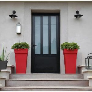 JARDINIÈRE - BAC A FLEUR Pot pour fleur Toscane bac carré intérieur extérie