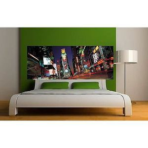 Stickers muraux trompe l oeil fenetre new york achat for Decoration murale new york