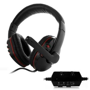 CASQUE - MICRO CONSOLE Nouveau 5 en 1 Wired Stereo Gaming Headset casque