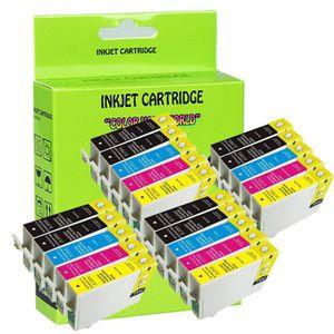 CARTOUCHE IMPRIMANTE 20 Compatible Epson T1281 T1285 noir + Cartouche d