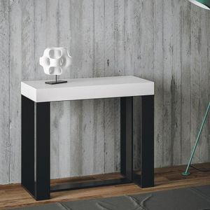 CONSOLE EXTENSIBLE Console extensible Futura Itamoby White Ash Frame