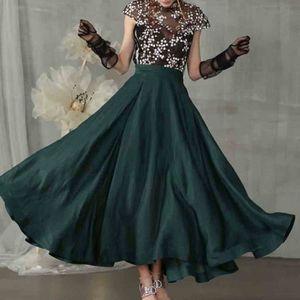 JUPE Femmes Fashion Party A-ligne Hight taille élastiqu