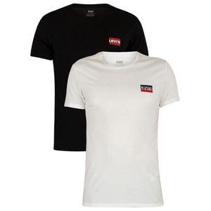 T-SHIRT Levi's Homme Lot de 2 t-shirts , Multicolore