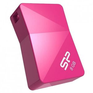 CLÉ USB SILICON POWER Clé USB 2.0 Touch 08 - 8 GB - Rose