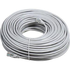 CÂBLE RÉSEAU  Câble Réseau CAT6 Ethernet RJ45 Gigabit Haute Qual