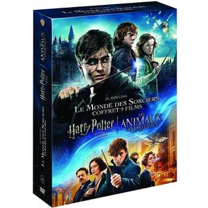 DVD FILM COFFRET HARRY POTTER INTEGRAL - FANTASTIC BEAST 1