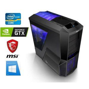 UNITÉ CENTRALE  PC Gamer I7-9700K - GeForce GTX 1060 6GO - 16GO RA