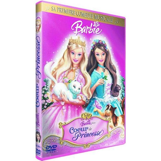 Dvd Barbie Coeur De Princesse