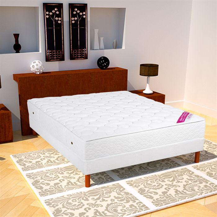 matelas 140x190 ressorts ensach s mousse m moire achat vente matelas cdiscount. Black Bedroom Furniture Sets. Home Design Ideas
