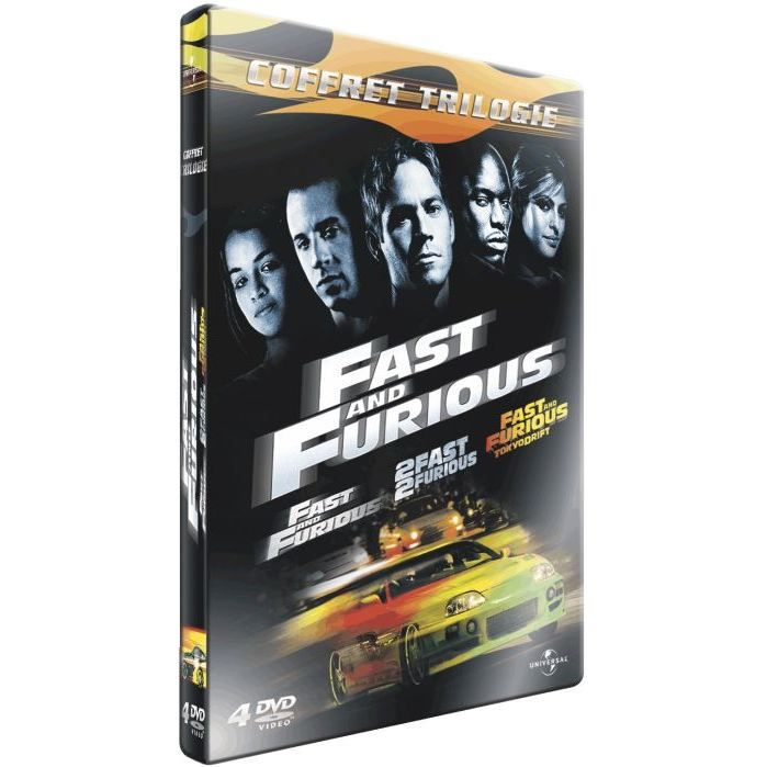 dvd coffret fast and furious achat vente pas cher. Black Bedroom Furniture Sets. Home Design Ideas