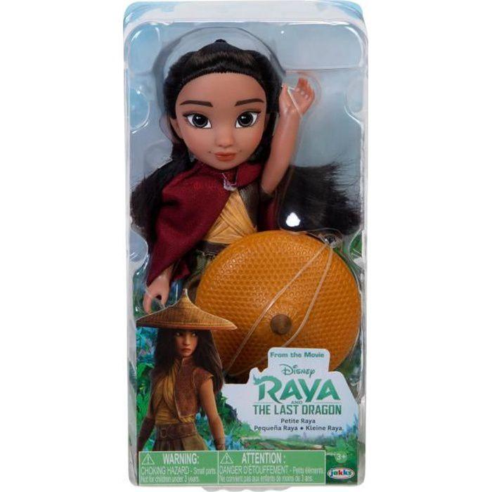 DISNEY Poupée Raya en plastique - 15 cm
