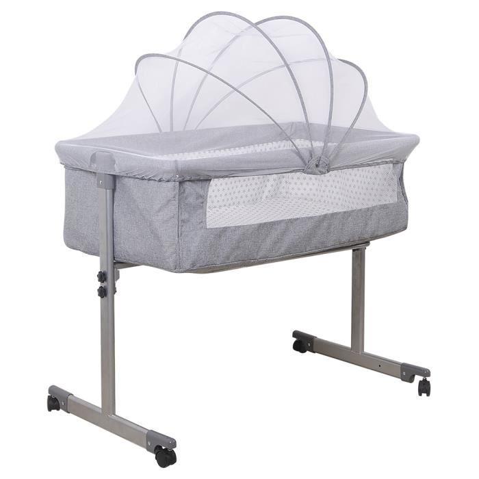 ZUORIOR SAFETY 1ST Bébé Confort Cododo, Lit bébé 96*57*77cm