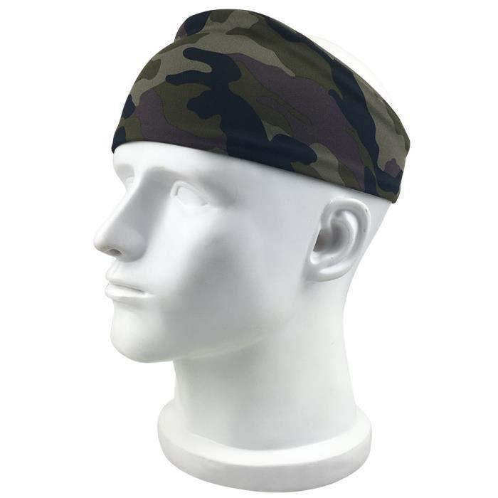 Fitness Bande de cheveux élastique Sports Yoga Sweatband Head Band DCH80615603CE_moc