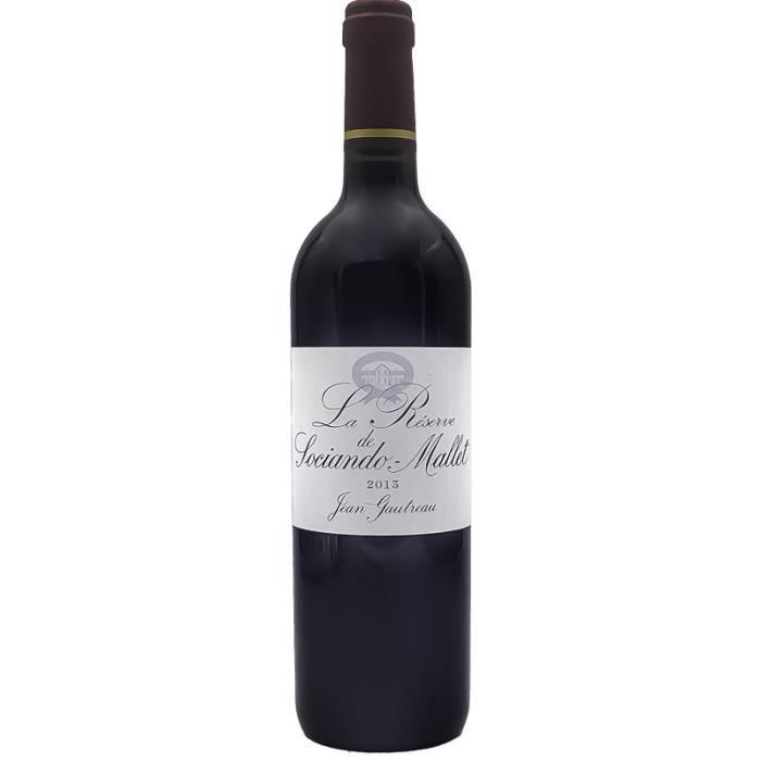 La Réserve de Sociando-Mallet - Second Vin - Rouge - 2013 - 75cl