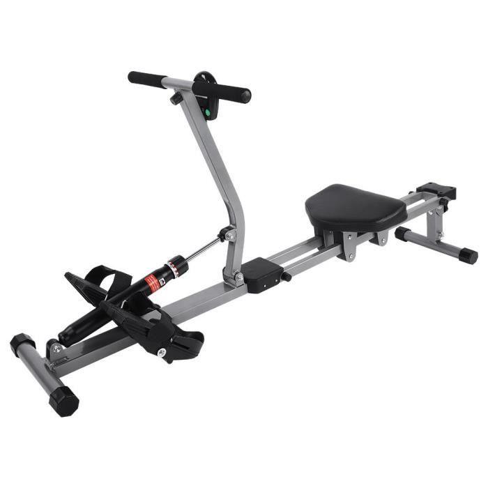 Accessoire de forme physique de gymnase de gymnastique à la maison d'entraînement de rameur de Cardio de rameur en acier en acier