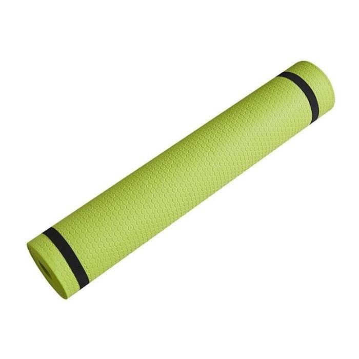 Tapis de sol en mousse épaisse EVA antidérapante, 3-6 mm,pour des exercices de yoga, sport, Pilates et gymnastique, [BDFBDB1]