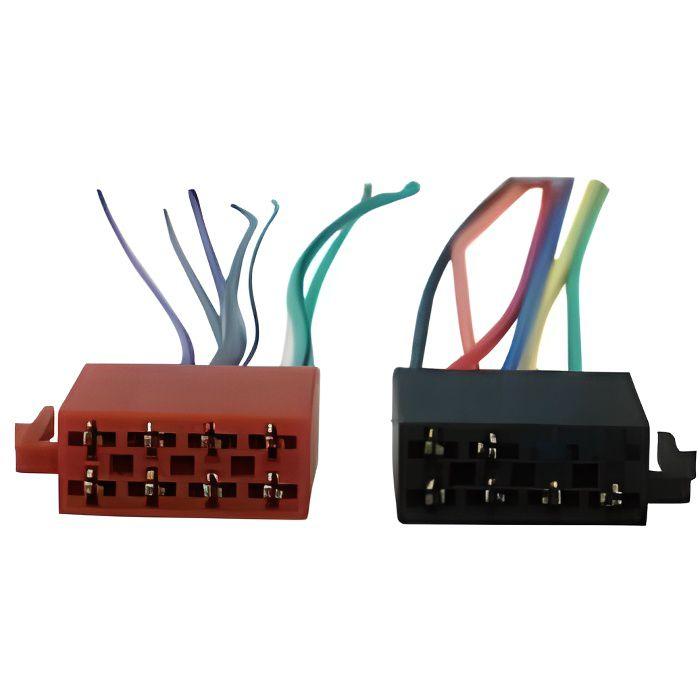 Câble ISO universel pour autoradio cd40766