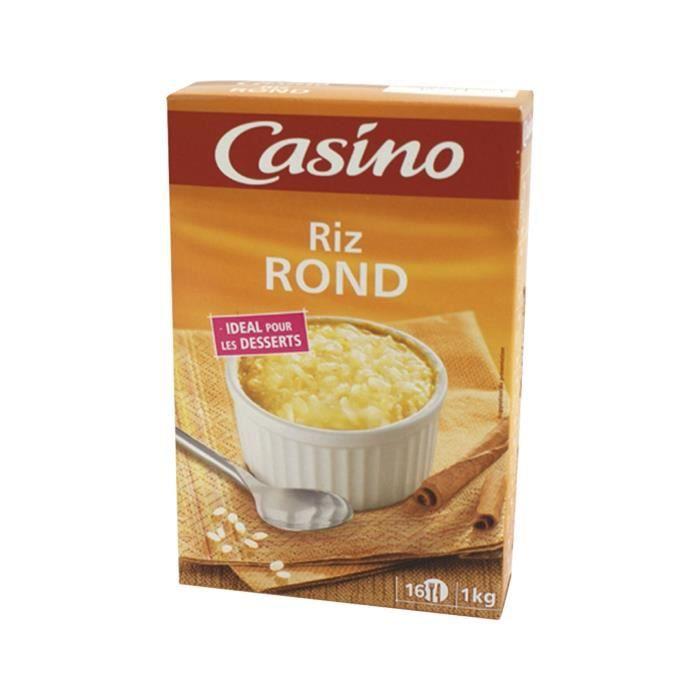 CASINO Riz rond idéal pour les desserts - 1 kg