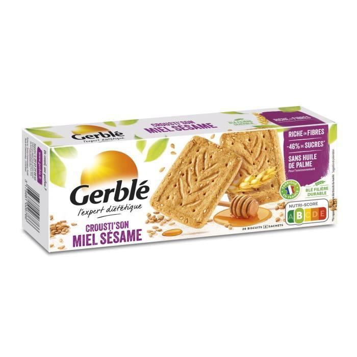 Biscuits au miel et sésame 200 g Gerblé