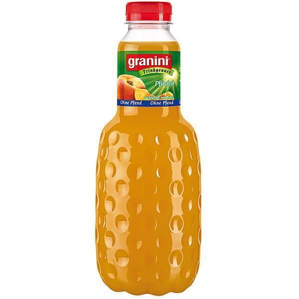 Granini jus De Fruit pêche 6 x 1 litres