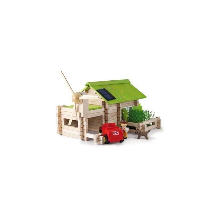 Le chalet ecologique avec petit jardin 145 pieces bois - Maison a construire - JeuJura - Des 5 ans