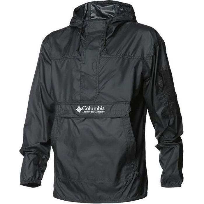 COLUMBIA Veste de randonnée Challenger Windbreaker - Homme - Noir