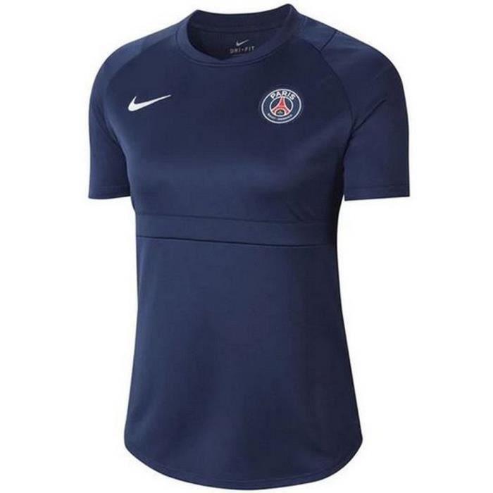 Nouveau Maillot Officiel D'entrainement Pro Femme PSG Paris Saint-Germain Nike Saison 2020-2021