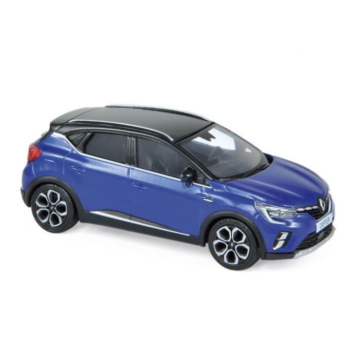 Miniatures montées - Renault Captur Bleu et Noir 2020 1/43 Norev