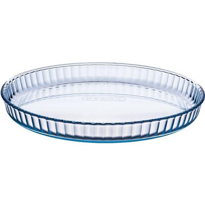 PYREX Moule à tarte Classic Glassware 27 cm transparent