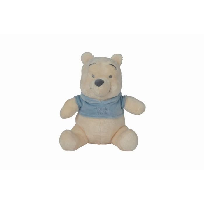 WINNIE Peluche Bleu 25 cm - Disney baby Tonal