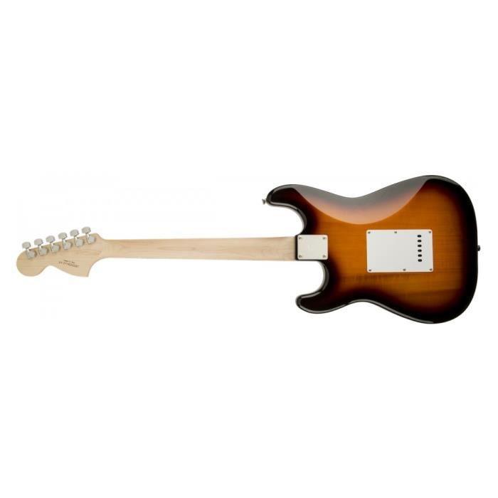 Squier Stratocaster Affinity brown sunburst - Guitare électrique