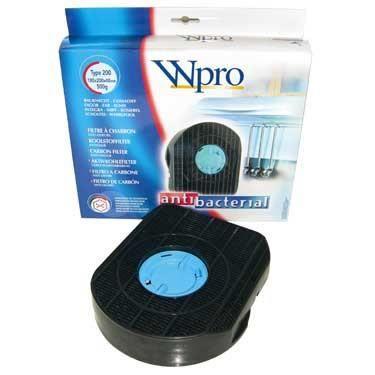 1 x Filtre à charbon pour hotte DKF42 - ACTIF TYPE 200 - Wpro - réf. 309.136