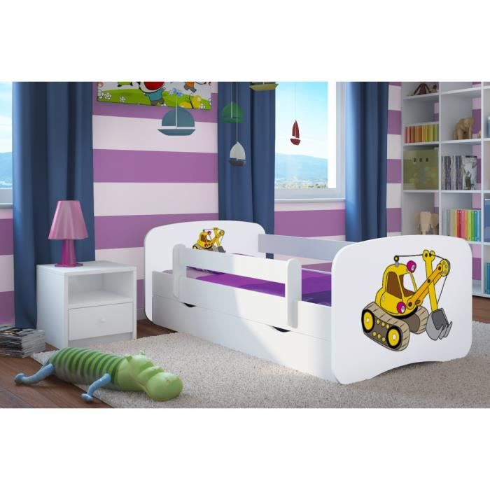 lit enfant avec barriere. Black Bedroom Furniture Sets. Home Design Ideas